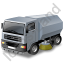 Road Sweeper Grey Icon