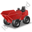 Skip Loader Red Icon