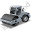 Steam Roller Grey Icon