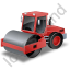 Steam Roller Red Icon