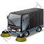 Street Sweeper Black Icon