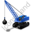 Wrecking Ball Blue Icon