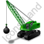Wrecking Ball Green Icon