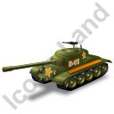 Tank Yellow Icon, PNG/ICO, 128x128