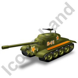 Tank Yellow Icon, PNG/ICO, 256x256