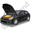 Car Repair Black Icon