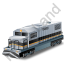 Diesel Locomotive Black Icon