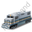 Diesel Locomotive Grey Icon