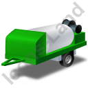 Jetter Trailer Green Icon, PNG/ICO, 128x128