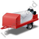 Jetter Trailer Red Icon
