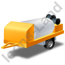 Jetter Trailer Yellow Icon