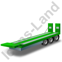 Plant Trailer Green Icon