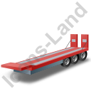 Plant Trailer Red Icon