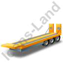 Plant Trailer Yellow Icon