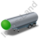 Tanker Trailer 2 Green Icon