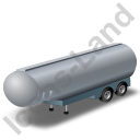 Tanker Trailer 2 Grey Icon