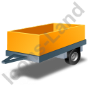 Utility Trailer Yellow Icon