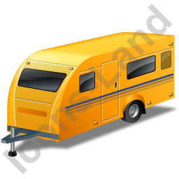 Caravan Yellow Icon