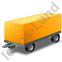 Full Trailer Yellow Icon