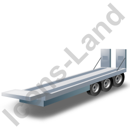 Plant Trailer Grey Icon