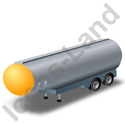 Tanker Trailer 2 Yellow Icon