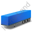Box Trailer Blue Icon