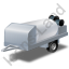 Jetter Trailer Grey Icon