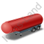 Tanker Trailer Red Icon