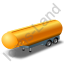 Tanker Trailer Yellow Icon