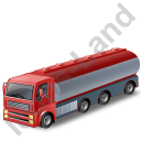 Tanker Truck Red Icon