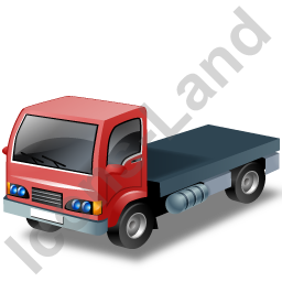 Lorry Cab Red Icon