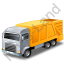 Bin Truck Yellow Icon