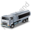 Fuel Tank Truck Black Icon