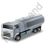 Fuel Tank Truck Grey Icon