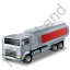 Fuel Tank Truck Red Icon