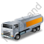 Fuel Tank Truck Yellow Icon