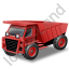 Haul Truck Red Icon