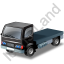 Lorry Cab Black Icon, PNG/ICO, 64x64
