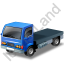 Lorry Cab Blue Icon