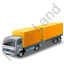 Lorry Trailer Yellow Icon