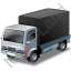 Lorry Black Icon