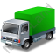 Lorry Green Icon