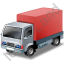 Lorry Red Icon