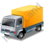 Lorry Yellow Icon