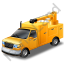 Service Truck Yellow Icon