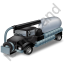 Sewer Cleaning Truck Black Icon