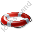 Lifebuoy Red Icon