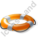 Lifebuoy Yellow Icon