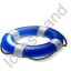 Lifebuoy Blue Icon