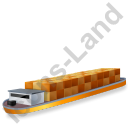 Barge Yellow Icon
